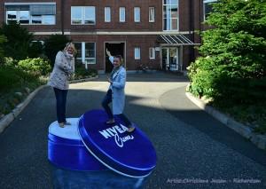 3D Straßenmalerei Nivea