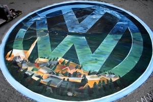 Das VW Logo, Schliersee