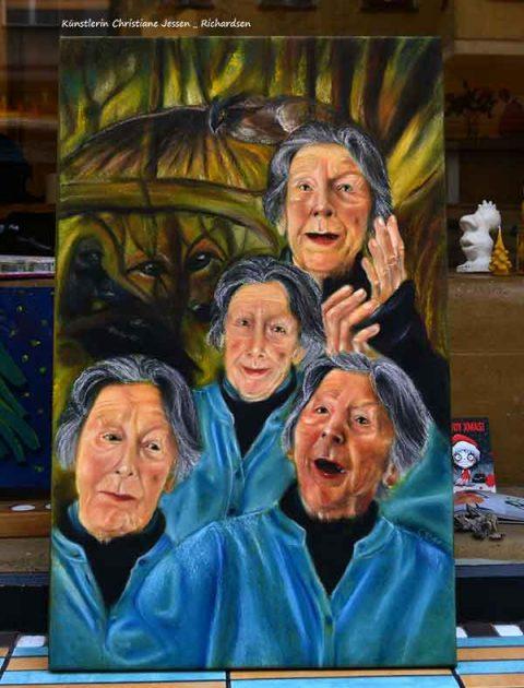portrait erinnerung,  das Erbe